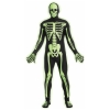 Glow In the Dark Skeleton Skin Suit Teen Costume