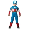 Avengers Captain America with Muscles Toddler Costume