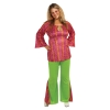 Hippie 60's Girl Plus Size Adult Costume