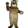 Dancing Bear Mascot. This  Dancing Bear mascot comes complete with head, body, hand mitts and foot covers.. This is a sale item. Manufactured from only the finest fabrics. Fully lined and padded where needed to give a sculptured effect. Comfortable to wear and easy to maintain. All mascots are custom made. Due to the fact that all mascots are made to order, all sales are final. Delivery will be 2-4 weeks. Rush ordering is available for an additional fee. Please call us toll free for more information. 1-877-218-1289