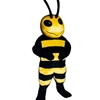 Drone Bee Mascot. This Drone Bee mascot comes complete with head, body, hand mitts and foot covers.. This is a sale item. Manufactured from only the finest fabrics. Fully lined and padded where needed to give a sculptured effect. Comfortable to wear and easy to maintain. All mascots are custom made. Due to the fact that all mascots are made to order, all sales are final. Delivery will be 2-4 weeks. Rush ordering is available for an additional fee. Please call us toll free for more information. 1-877-218-1289