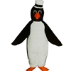 Dapper Penguin Mascot. This Dapper Penguin mascot comes complete with head, body, hand mitts and foot covers. This is a sale item. Manufactured from only the finest fabrics. Fully lined and padded where needed to give a sculptured effect. Comfortable to wear and easy to maintain. All mascots are custom made. Due to the fact that all mascots are made to order, all sales are final. Delivery will be 4-6 weeks. Rush ordering is available for an additional fee. Please call us toll free for more information. 1-877-218-1289