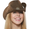 Faux Suede Cowhand Hat