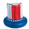 Patriotic American Flag Inflatable Cooler