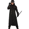 Warlock Steampunk Coat Adult Costume