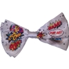 Pop Art Bow Tie with Comic Book Print