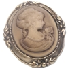Cameo Ring Costume Jewelry