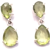 Gemstone Earrings Costume Jewelry