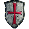 Knight Shield with Cross
