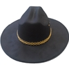 Cowboy Hat with Gold Band