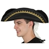 Colonial Tricorn Hat with Hair