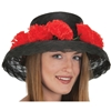 Day of the Dead Hat with Flower Band