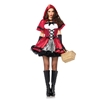 Gothic Red Riding Hood Sexy Adult Costume