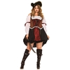 Ruthless Pirate Wench Sexy Plus Size Adult Costume