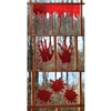 3-D Bloody Window Clings Halloween Decoration