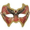 Red and Black Venetian Mask