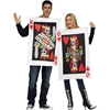 King and Queen of Hearts Adult Costume