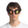 Holographic Skull Steampunk Goggles