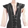 Pirate Vest with Front Lacing