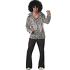 Groovy Disco Shirt with Afro Wig