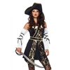 Black Sea Buccaneer Sexy Adult Costume