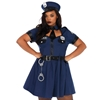 Flirty Cop Sexy Plus Size Adult Costume