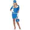 Retro Stewardess Flight Attendant Adult Costume