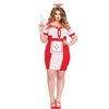 Bedside Betty Retro Plus Size Sexy Nurse Adult Costume