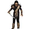 Skull Dragon Ninja Kids Costume