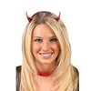 Clip On Glitter Devil Horns