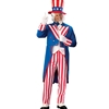 Deluxe Uncle Sam Costume Patriotic Costume