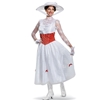 Mary Poppins White Dress Deluxe Adult Costume