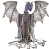 Winter Dragon Animated Halloween Decoration