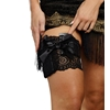 Lace Leg Garter with Pocket