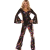 Multi-Color Disco Diva Adult Costume Great for Mamma Mia