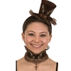 Steampunk Mini Top Hat with Choker