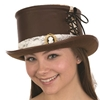 Steampunk Top Hat with Cameo