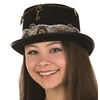 Steampunk Top Hat with Lace Band