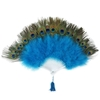 Deluxe Peacock Feather Fan