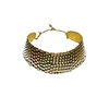 Gold Snake Metal Collar