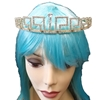 Gold Tiara with Rhinestones