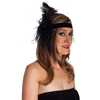 Flapper Headband with Veil