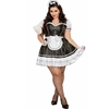 Keep it Clean Maid Sexy Adult Plus Size Costume