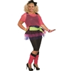 80's Girl Adult Plus Size Costume