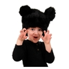 Black Bear Plush Hat