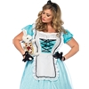 Tea Time Alice Adult Plus Size Costume