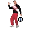 SNL Spartan Cheerleader Male Adult Costume