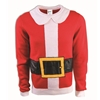 Santa Suit Sweater Adult Costume