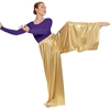 Adult Metallic Wide Leg Palazzo Pants