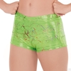 Adult Metallic Splatter Shorts